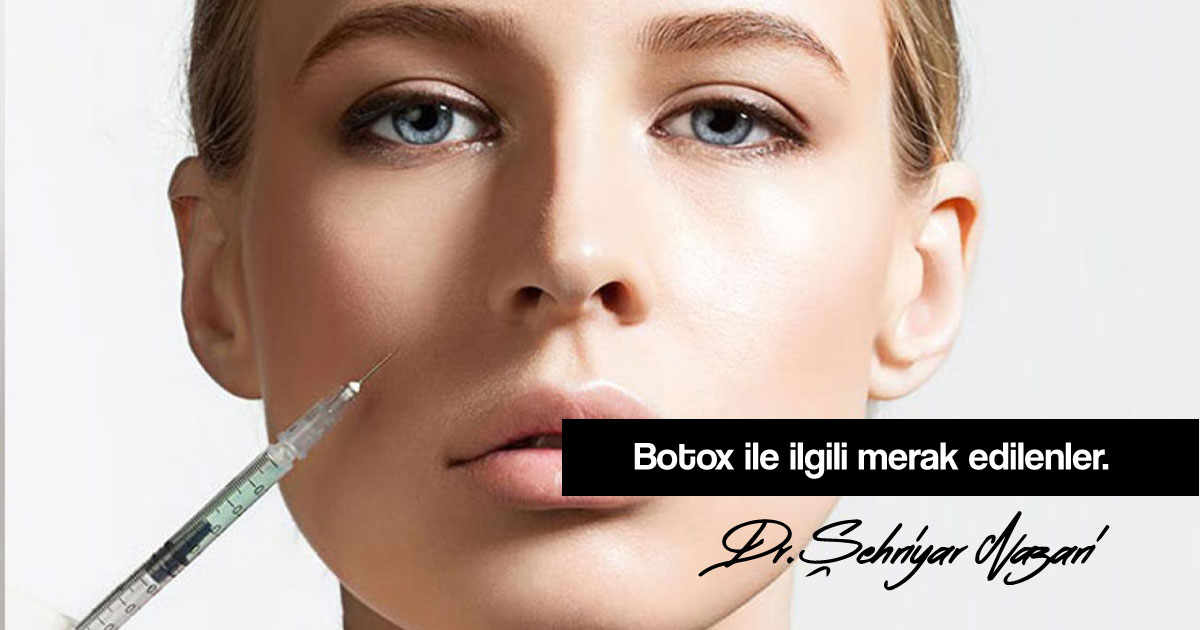 Botoks zararlı mıdır?